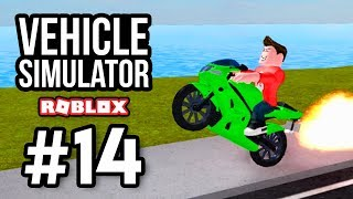 MOTORBIKES ARE FASTER THAN CARS - Roblox Vehicle Simulator #14