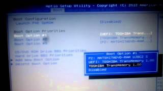 Cara mematikan Uefi di bios di laptop asus x450jf
