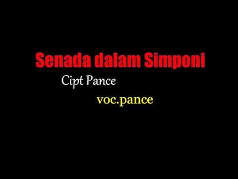 Senada Dalam Simponi cipt Pance voc  Pance