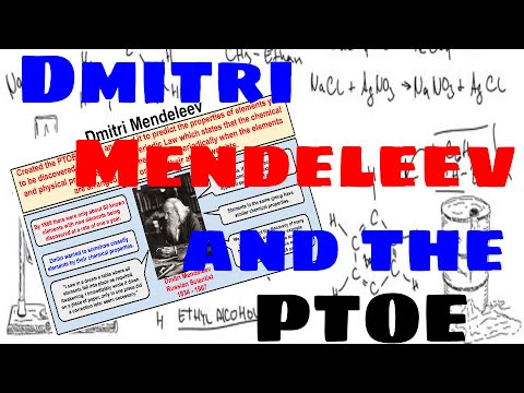 Dmitri mendeleev and the periodic table of elements youtube dmitri mendeleev and the periodic table of elements urtaz Image collections