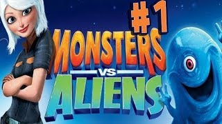 Monsters vs. Aliens - Walkthrough - Part 1 - Jail Break (PC) [HD]