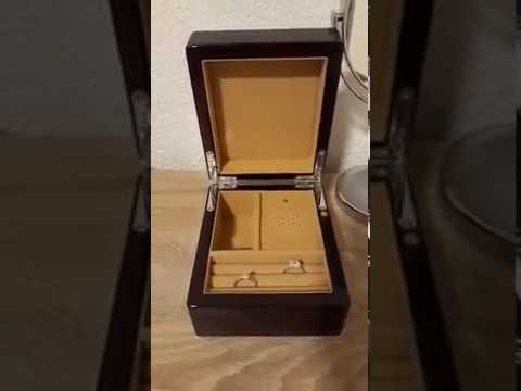 Enchanting Jewelry Music Box with Custom Song All of Me - Customer Review