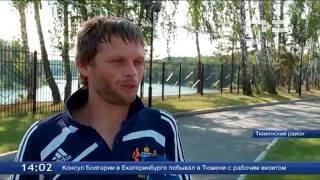 Член паралимпийской сборной Александр Ялчик тренируется в «Олимпийской ребячке»