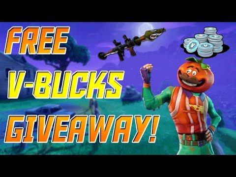 FREE V-BUCKS!!!!! Fortnite