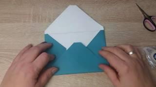 Tutorial Briefumschläge ohne Falzbrett