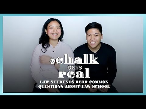 Law School Students Answer Common Questions About Law School | #ChalkGetsReal