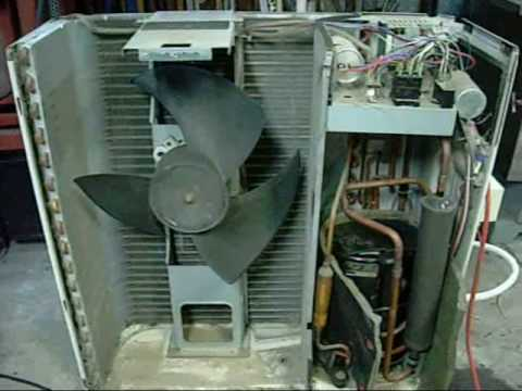 Fujitsu N807 Condensing Unit Tour Youtube