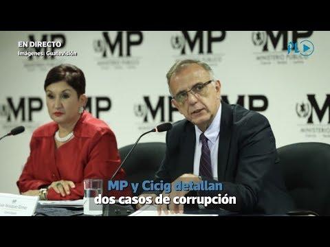 MP y Cicig revelan caso de corrupción en el Registro de Información Catastral | Prensa Libre