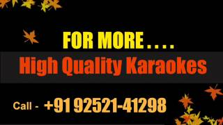 Yaar Bina Chain Kahan Re Karaoke Remix