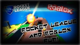 IT'S COMING RIGHT FOR US!!! (Rocket League and Roblox)