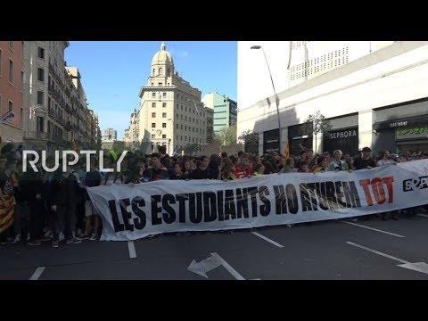 LIVE: Students strike