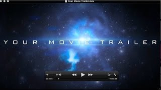 How To Make Professional, Epic Movie Trailers Pt. # 1