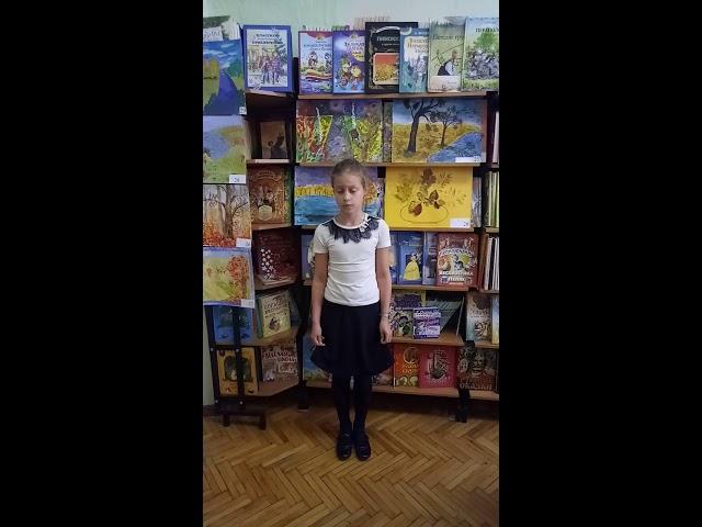 Изображение предпросмотра прочтения – СофьяМедведева читает произведение «Стихотворение в прозе Воробей» И.С.Тургенева