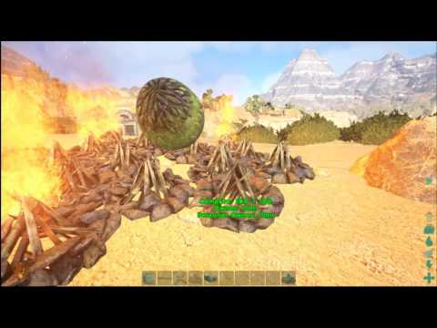 Ark Scorched Earth: INCUBATING WYVERN EGGS!!!!