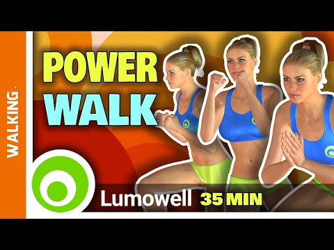 Fat Burning Walking Workout And Full Body Tone