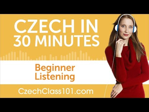 30 Minutes of Czech Listening Comprehension for Beginner