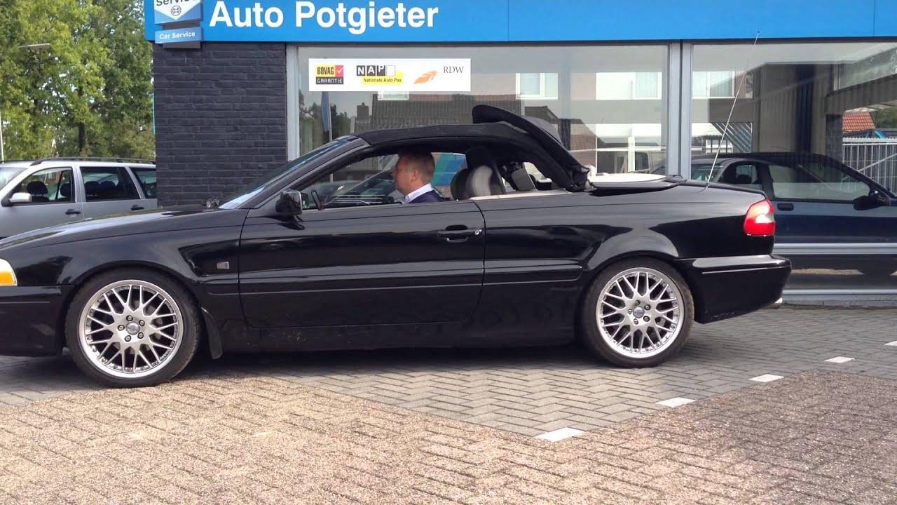 Volvo c70 cabrio het sluiten van het dak bij auto potgieter youtube sciox Image collections