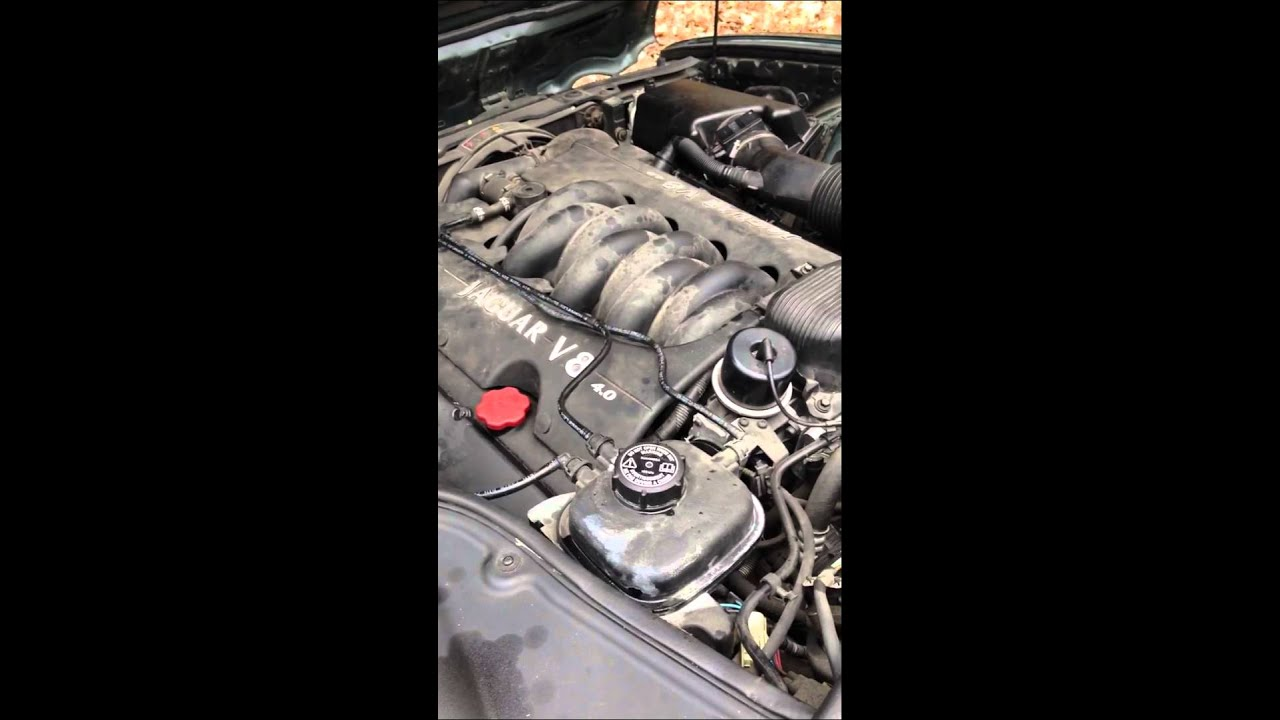 hight resolution of start and rough idle jaguar 1998 xj8