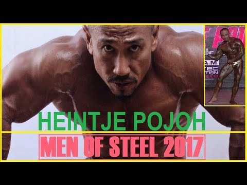 HEINTJE POJOH - Men of Steel 2017 Bay Walk - Guest Pose