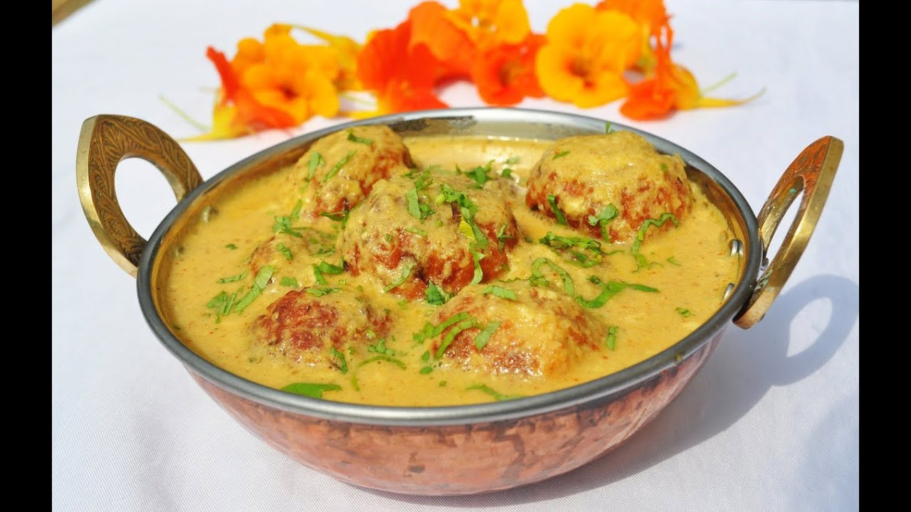 Shahi Mewa Ka Kofta Curry-Indian food recipe