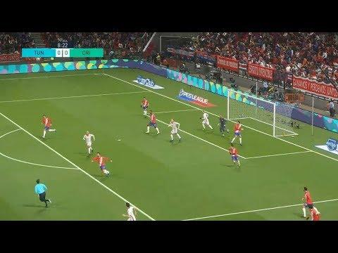 [HD] Tunisie vs Costa Rica | Match Amical FIFA | 27 Mars 2018 | PES 2018