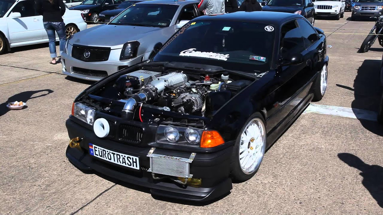 Loud Super Charged Ls Swapped E36 Bmw M3 Thomas Schlegel