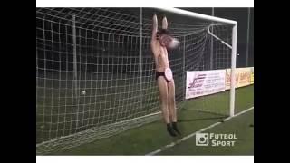 Naked men's soccer