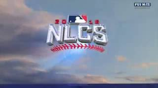 MLB NLCS 2016 10 16 Los Angeles Dodgers@Chicago Cubs Game2 720P