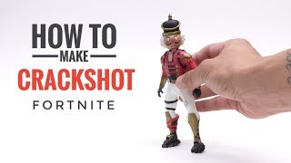 Crackshot from Fortnite Battle Royale - Polymer Clay Visual Tutorial