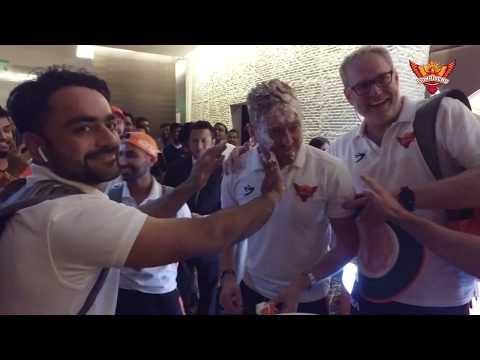 SunRisers Hyderabad   Post Match Celebrations   #SRHvRCB   VIVO IPL 2019