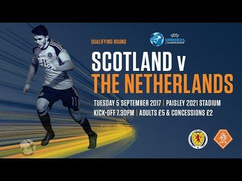 U21s | Scotland v Netherlands LIVE
