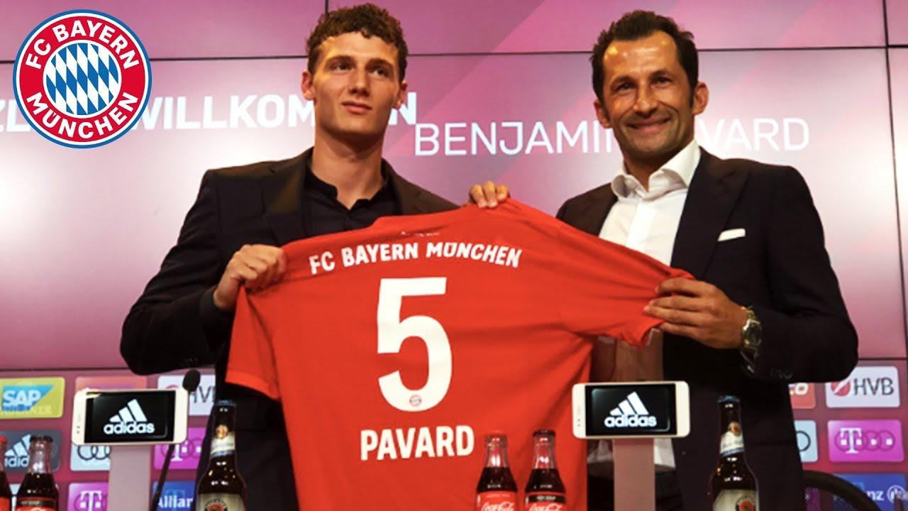 FC Bayern München : Neuzugang Pavard vorgestellt