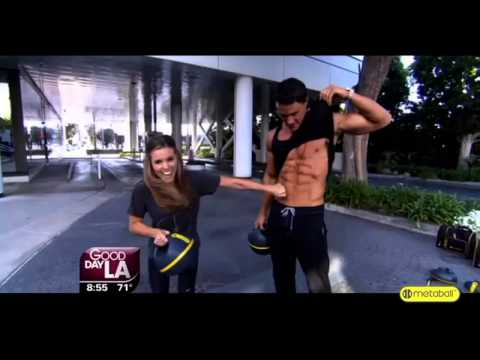 FOX: Good Day LA: Greg Plitt:The Metaball Workout