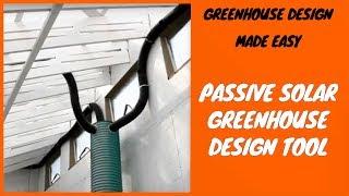 Greenhouse Design Made Easy - Passive Solar Greenhouse Design Tool