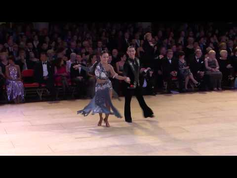 The Jive from the International Team Match at the Blackpool Dance Festival 2013