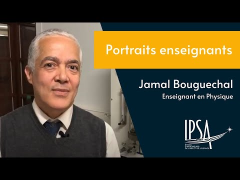 Interview enseignant IPSA (Jamal Bouguechal)