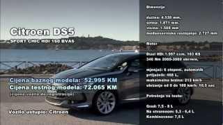 Test: Citroen DS5 Sport Chic HDI 160 BVA6
