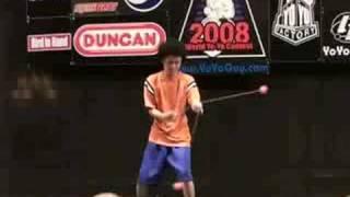 【ヨーヨー】world yo-yo contest 2008 final 2a 02 shinji saito