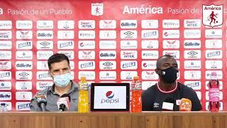 🎥 Conferencia de prensa posterior al compromiso frente a Atlético Nacional   - América de Cali 🔥