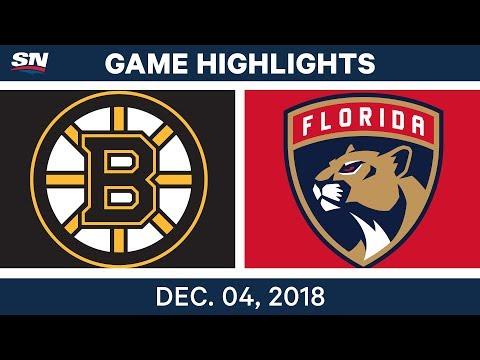 NHL Highlights | Bruins vs. Panthers - Dec 4, 2018
