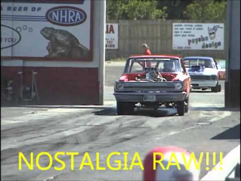 NOSTALGIA DRAG RACING!! FUNNY CARS, DIGGERS, ALTEREDS, GASSERS!!
