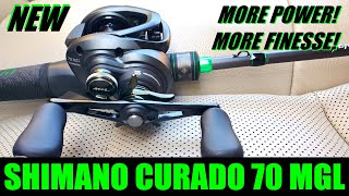 NEW Shimano CURADO MGL 70 breaks cover and its BACK in BLACK!!! Unboxing and Analysis