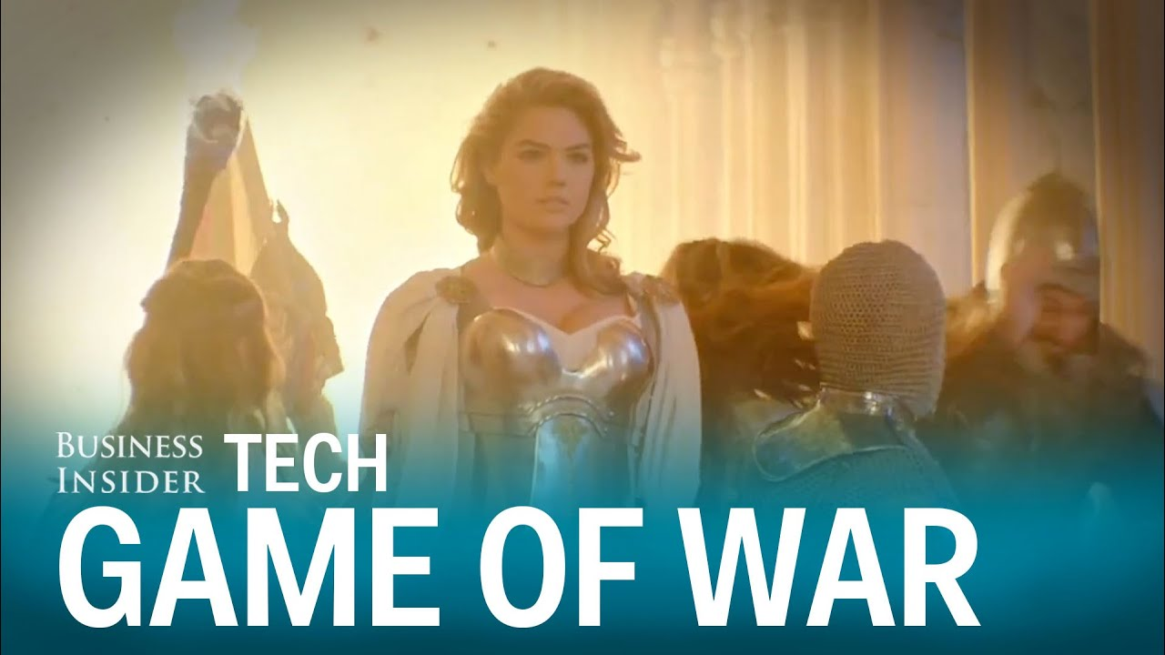 Kate upton s game of war cost someone 46 000 youtube