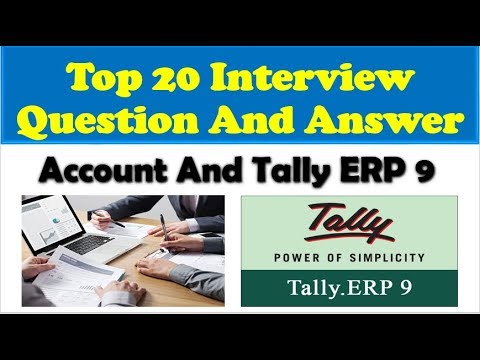 Accounting Interview Question & Answer