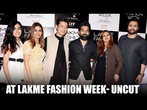 Uncut: Meiyang Chang & Jackky Bhagnani at Lakme Week 2016 | Genelia D'Souza | Bollywood News