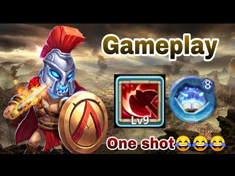 Skull Knight | 9/9 Brawler Favour Talent | 8/8 Revite | GamePlay | Dungeon | Castle Clash