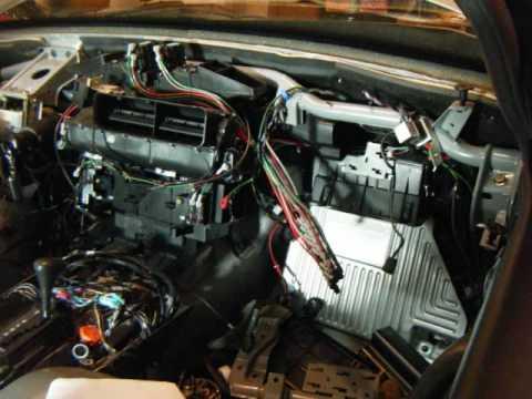 MercedesBenz S500 W140 Heater core & EVAP RNR  YouTube