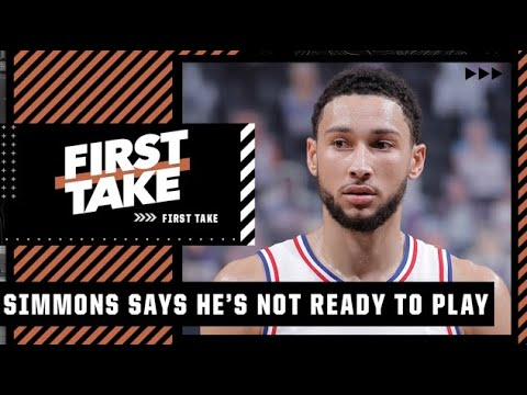 Download Stephen A. reacts to Ben Simmons telling the 76ers he is not ready to play   First Take