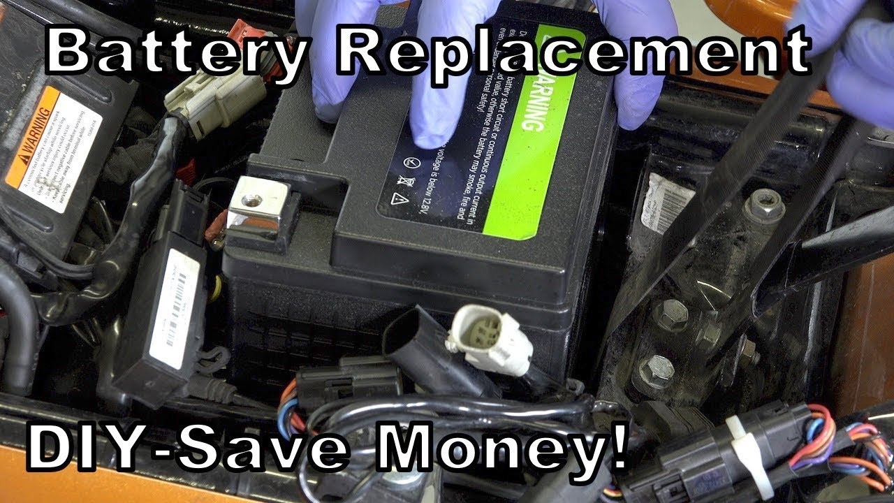 Lead Acid Battery >> How to Install a New Battery on Harley-Davidson-Lithium ...