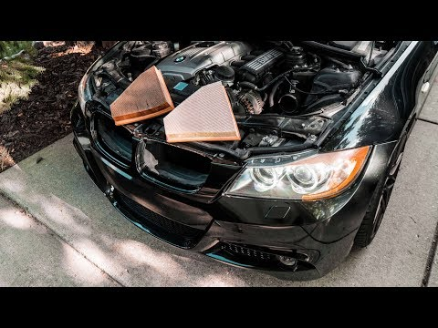 How to Replace Your BMW Engine Air Filter | E90, E92